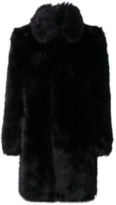 Faith Connexion oversized fur coat
