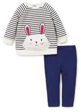 Little Me Baby Girls Two-Piece Bunny Tunic Set