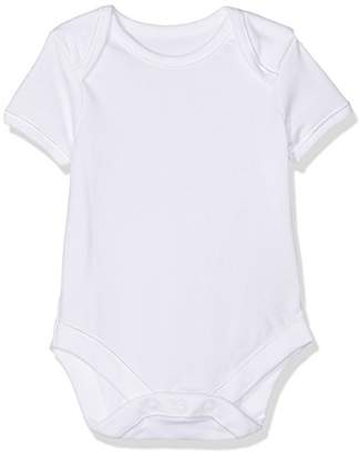 Mothercare My First Short Sleeve Bodysuits - 7 Pack, White, 3-6 Months (Manufacturer Size:68)