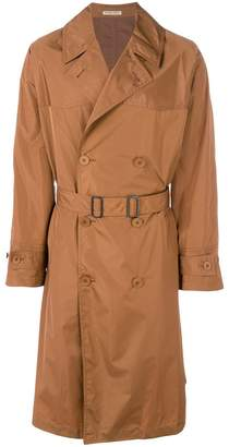 Bottega Veneta light calvados polyester coat