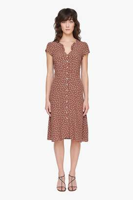 Genuine People Polka Dot Dress
