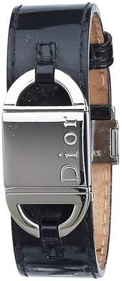 Christian Dior Black Steel Watches