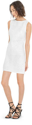 Max Studio bonded lace shift dress
