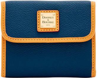 Dooney & Bourke Eva Braid Small Flap Wallet