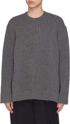 MS MIN Cashmere rib knit sweater