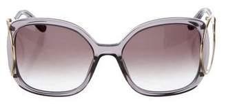 Chloé Jackson Square Tinted Sunglasses