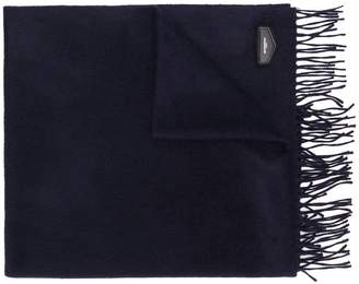 Givenchy logo plaque tassel scarf