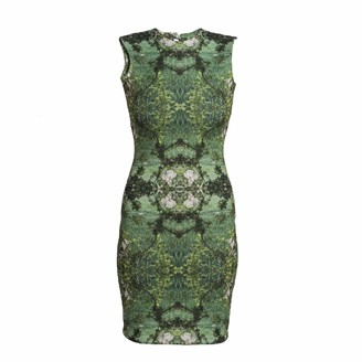 Coco Veve Nouveau Garden Body Con Dress
