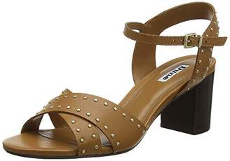 Dune Women's Joyride Open Toe Sandals, Brown Tan-Leather, 3 (36 EU)
