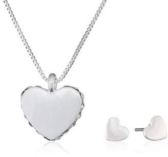 Pilgrim Women Silver Plated Jewellery Set - 901736020