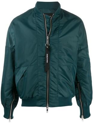 Daniel Patrick long sleeve bomber jacket