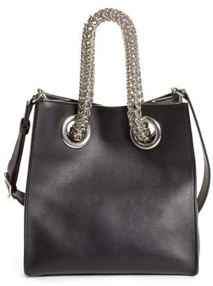 Alexander Wang Genesis Box Chain Square Leather Shopper