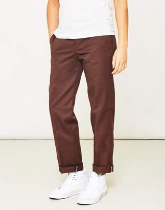 Dickies 873 Slim Work Pant Brown