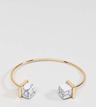 Glamorous marble cuff Bracelet