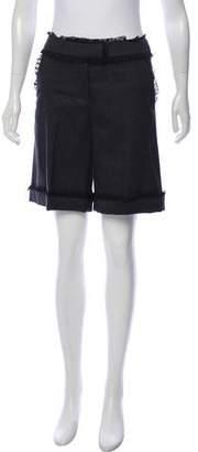 RED Valentino Wool Shorts