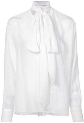 Loewe tie neck blouse
