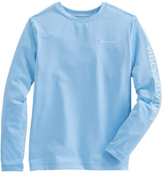 Vineyard Vines Boys Long-Sleeve Performance Sport T-Shirt