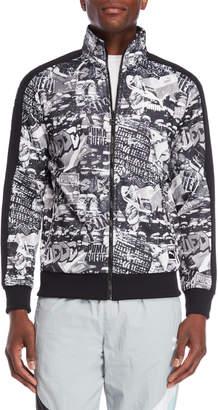 Puma Graffiti Zip-Up Sweatshirt