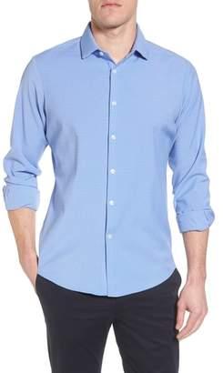 Mizzen+Main Maverick Slim Fit Plaid Sport Shirt