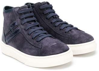 Hogan lace-up high-top sneakers