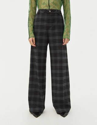 Hope Ease Plaid Trouser