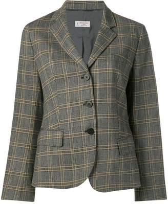 Alberto Biani checked tailored blazer