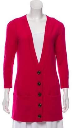 Diane von Furstenberg Cashmere Button-Up Cardigan