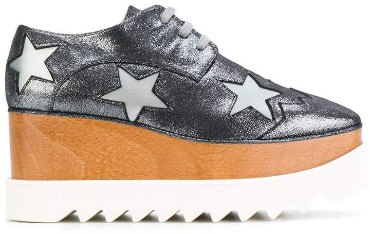 Stella McCartney glittered Elyse shoes