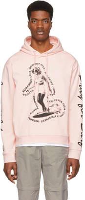 McQ Pink Surfside Club Hoodie