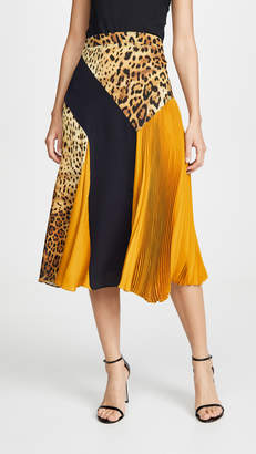 Cushnie High Waisted Midi Skirt
