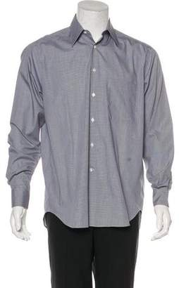 Giorgio Armani Woven Dress Shirt