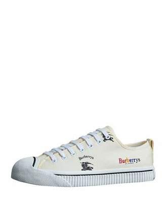 Burberry Men's Kingly Low-Top Logo Sneakers