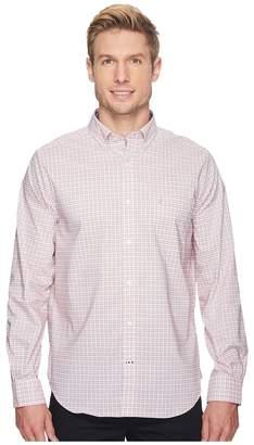 Nautica Long Sleeve Small Wear to Work Plaid Shirt Men's Clothing