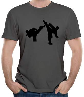 Your Own KaLiSSer Custom Taekwondo Martial Arts T Shirts For Men Design Personalized Tee Shirt