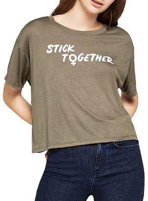 BCBGeneration Stick Together Muscle Tee