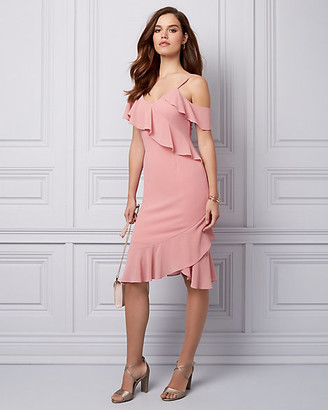 Le Château Chiffon One Shoulder Dress