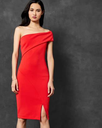 Ted Baker AREENA One sleeve bardot dress
