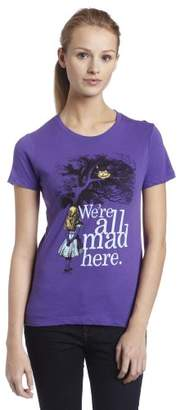 Impact Juniors Alice in Wonderland We're All Mad Here T-Shirt