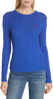 Polo Ralph Lauren Cable Knit Cotton Sweater