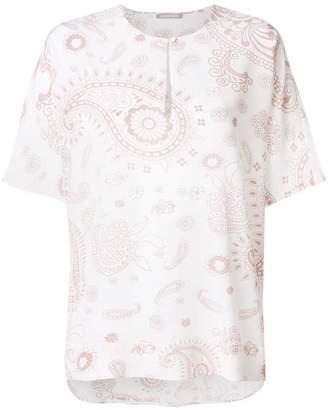 Hemisphere paisley print blouse