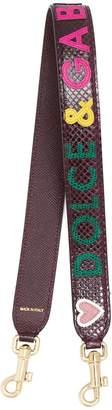 Dolce & Gabbana logo bag strap