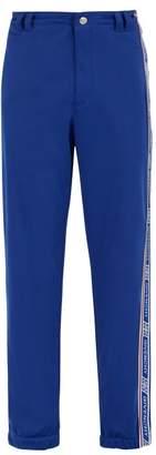 Givenchy Logo Stripe Side Panel Track Pants - Mens - Blue