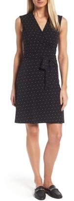 Women's Vince Camuto Pin Dot Wrap Dress $99 thestylecure.com