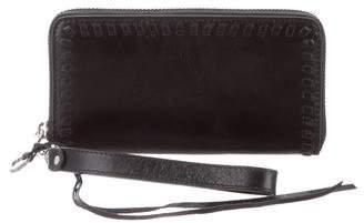 Rebecca Minkoff Leather Zip-Around Wallet