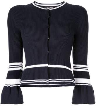 Paule Ka flared sleeve cardigan