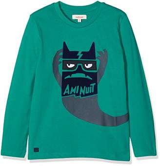 Catimini Boy's T-Shirt Manches Longues Pour Long Sleeve Top, (Mid Green 54), (Size: 5A)