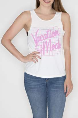Junk Food Clothing Vacation Mode Tank Top