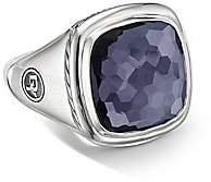 "David Yurman Albion Sterling Silver & Gemstone Ring/0.56"""