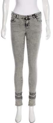 Maison Scotch Mid-Rise Straight-Leg Jeans