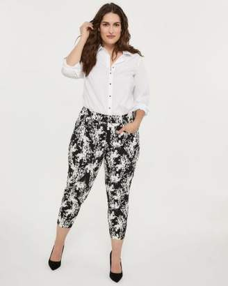 5dcabd9c1ce Printed Universal Fit Slim Leg Ankle Pant - In Every Story